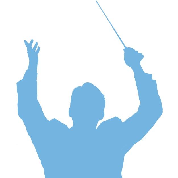 Chef d'orchestre représentant le fait de diriger le système d'information d'une entreprise